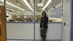 Ms. Wilson, Principal at Hannah Ashton Middle School