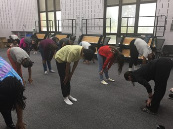 Namaste! BalletMet Brings Yoga to WRJHS