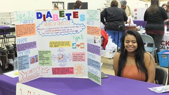 HS2 Students Raise Awareness of Health & Wellness