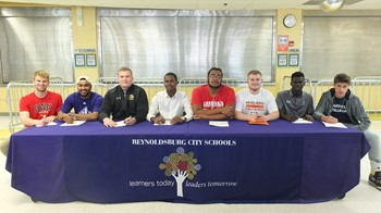 RCS Athletes Sign Up for Their Future