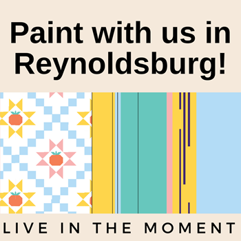 """""""Live in the Moment""""- Help Paint the Mural"""