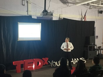 HAMS Students Host TEDX Youth Event