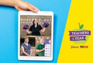 RCS' Martin, Coley are Columbus Parent Magazine Teachers of the Year!