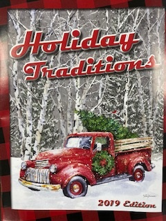 The icon is a picture of the front cover of the Holiday Traditions brochure