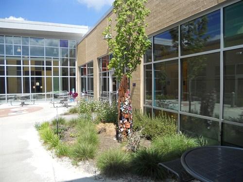 photo of courtyard
