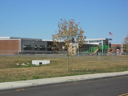 photo of outside large playground area