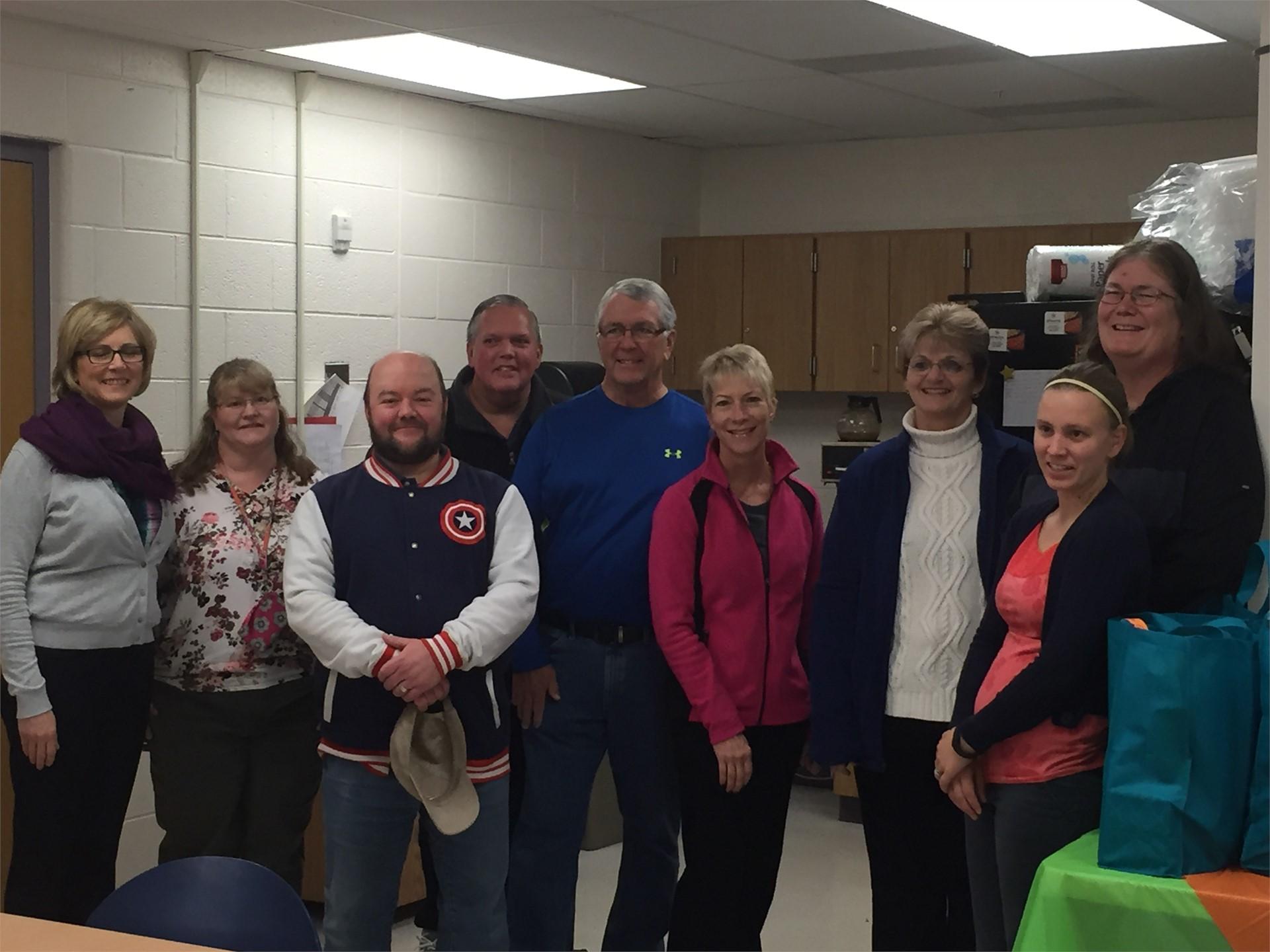 Grace Brethren Church donates supplies to Rose Hill staff!