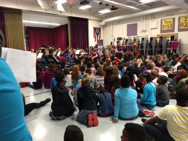 RHS Orchestra Visits Rose Hill