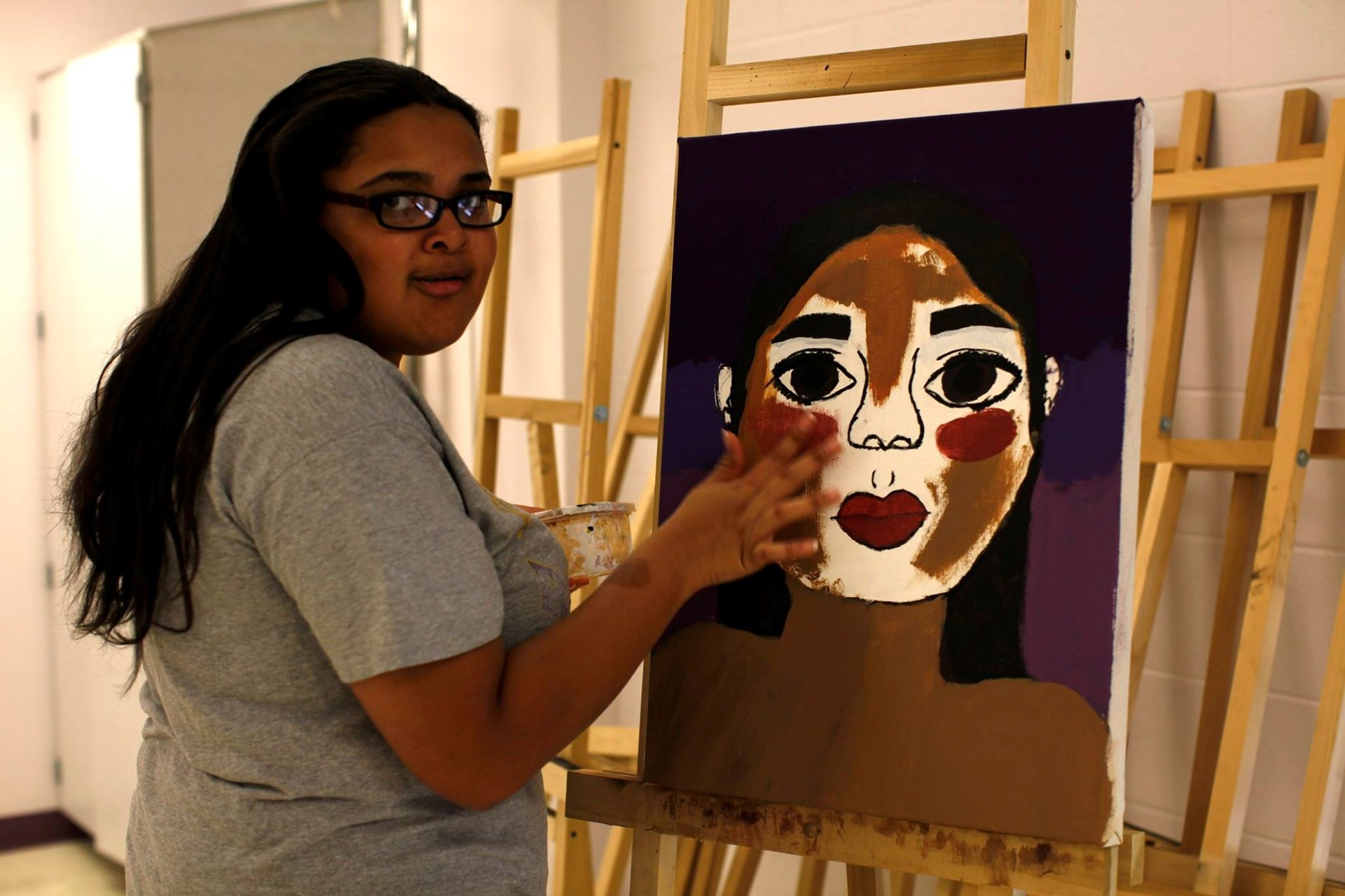 GSVA Teen Journey: Art of the Self-Portrait Class