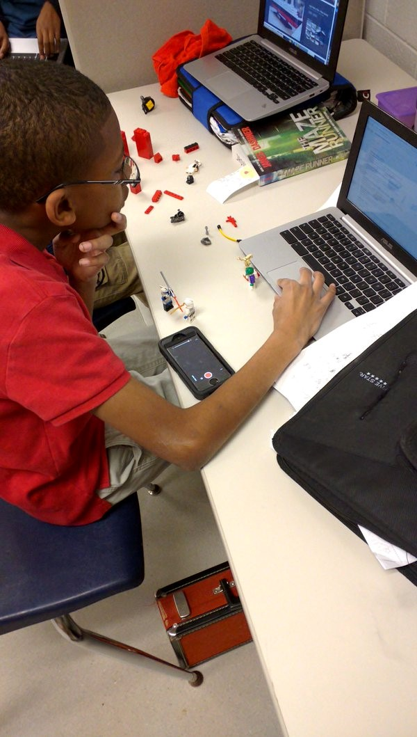 lego stop motion animation genius hour