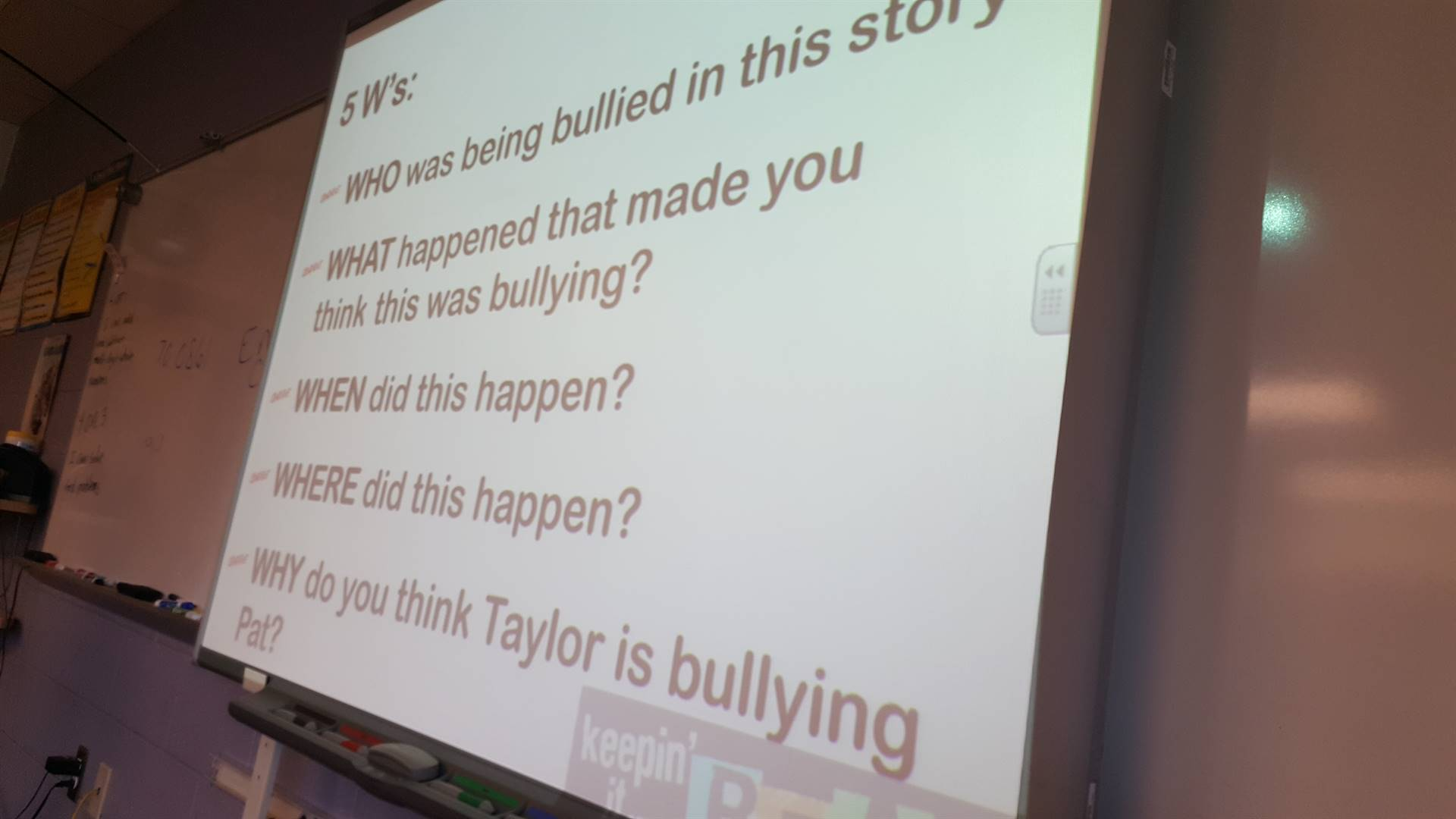 October is National Bullying Month!