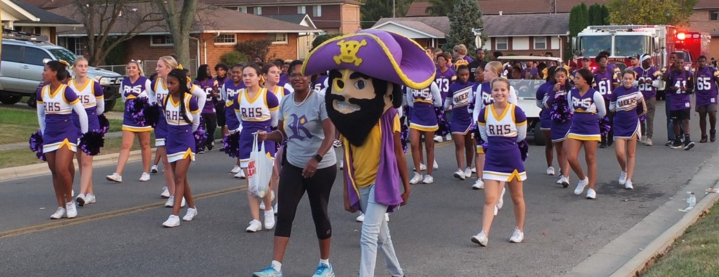Rocky Raider and Parade Participants