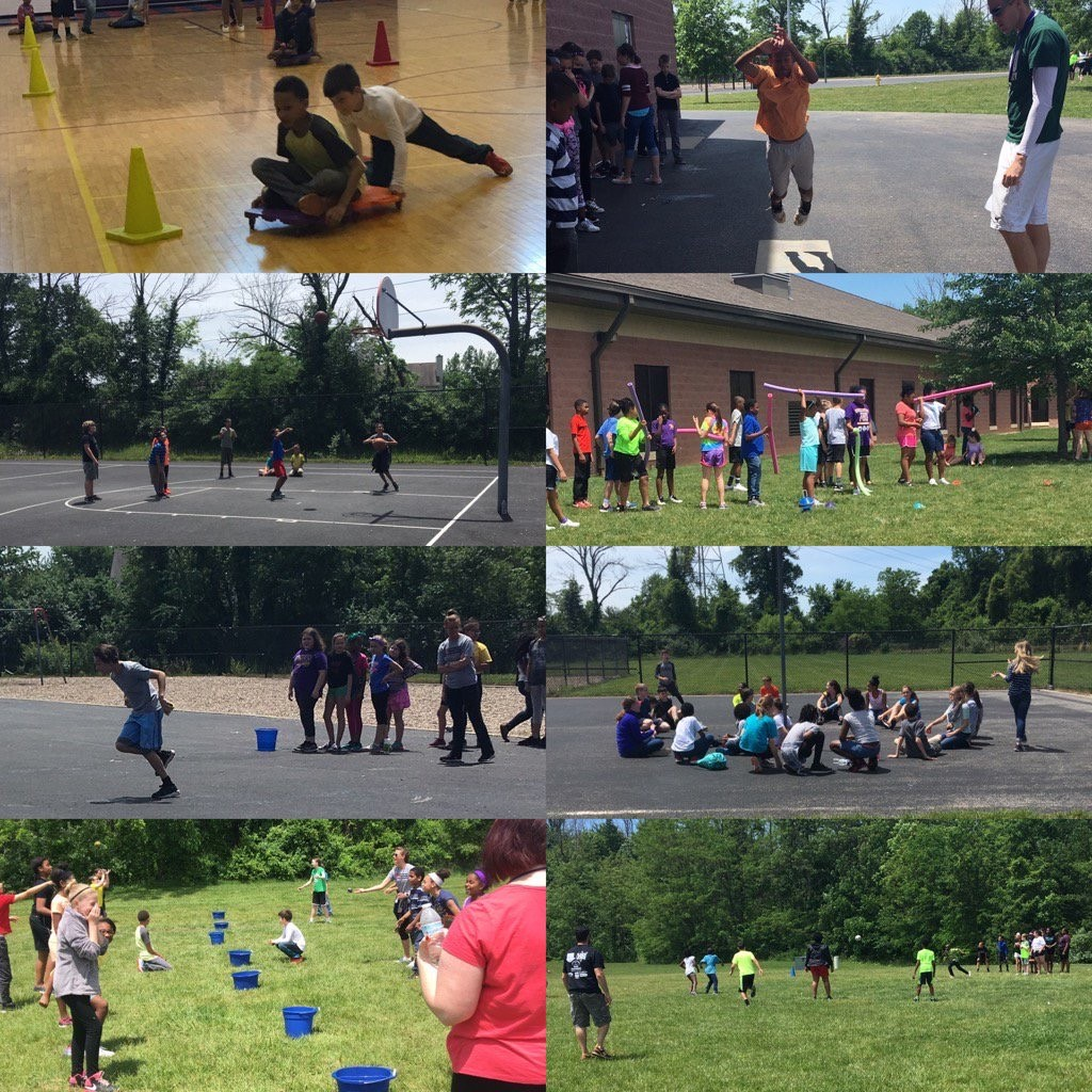 Collage of WRMS Field Day