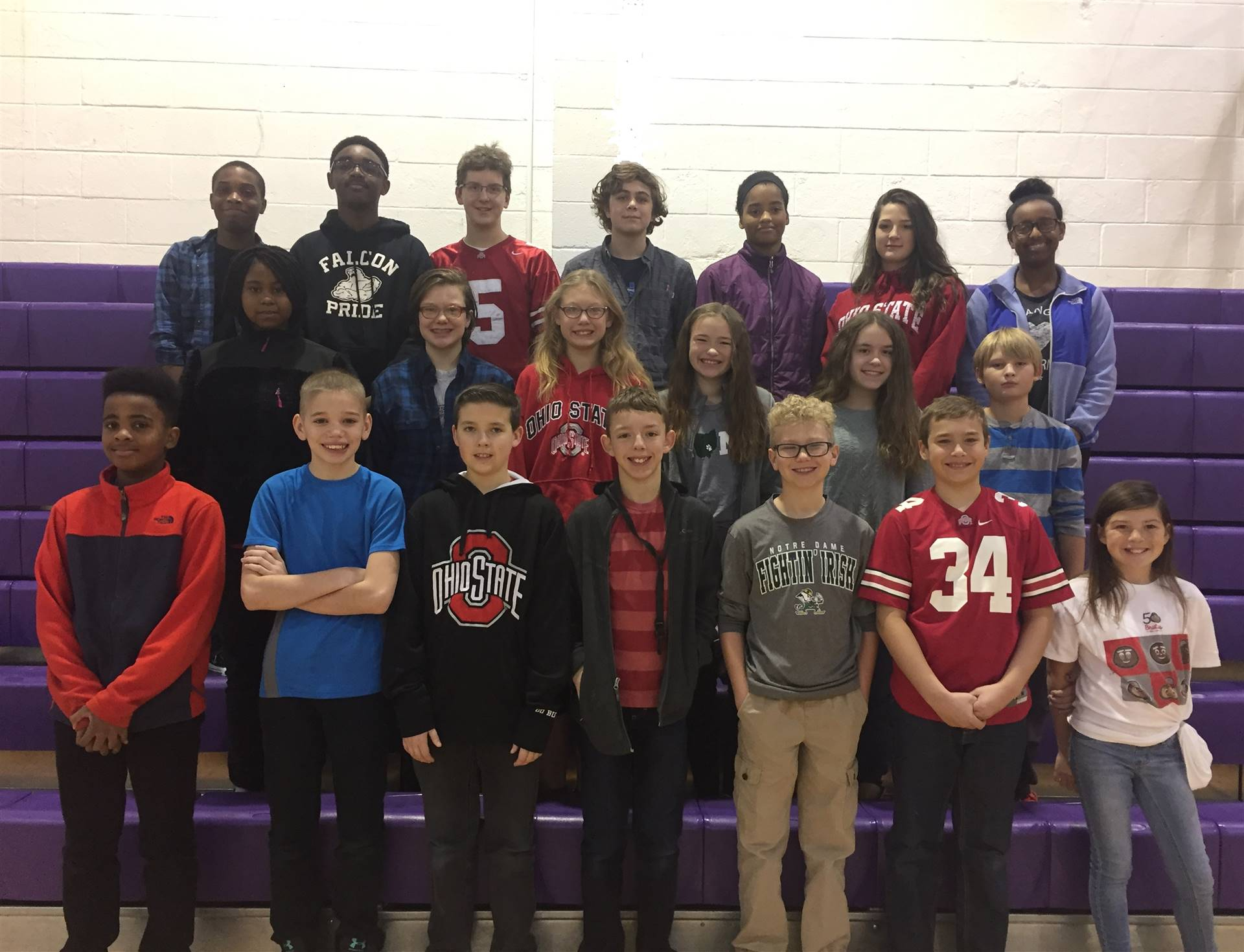 Students of the Month November 2016 - LEAD