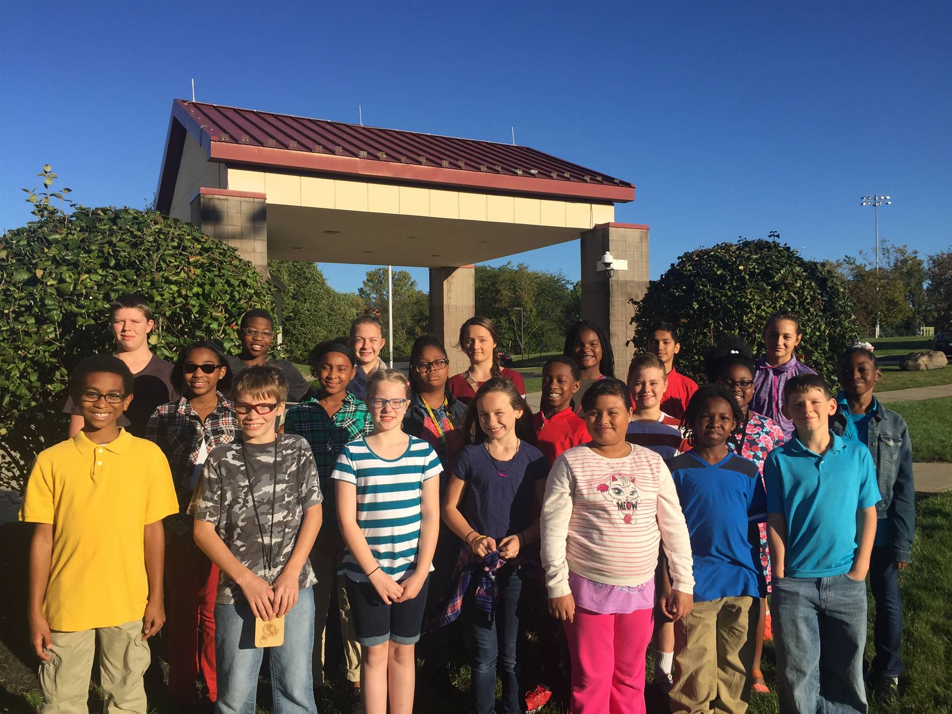 Students of the Month September 2016 - PERSEVERE