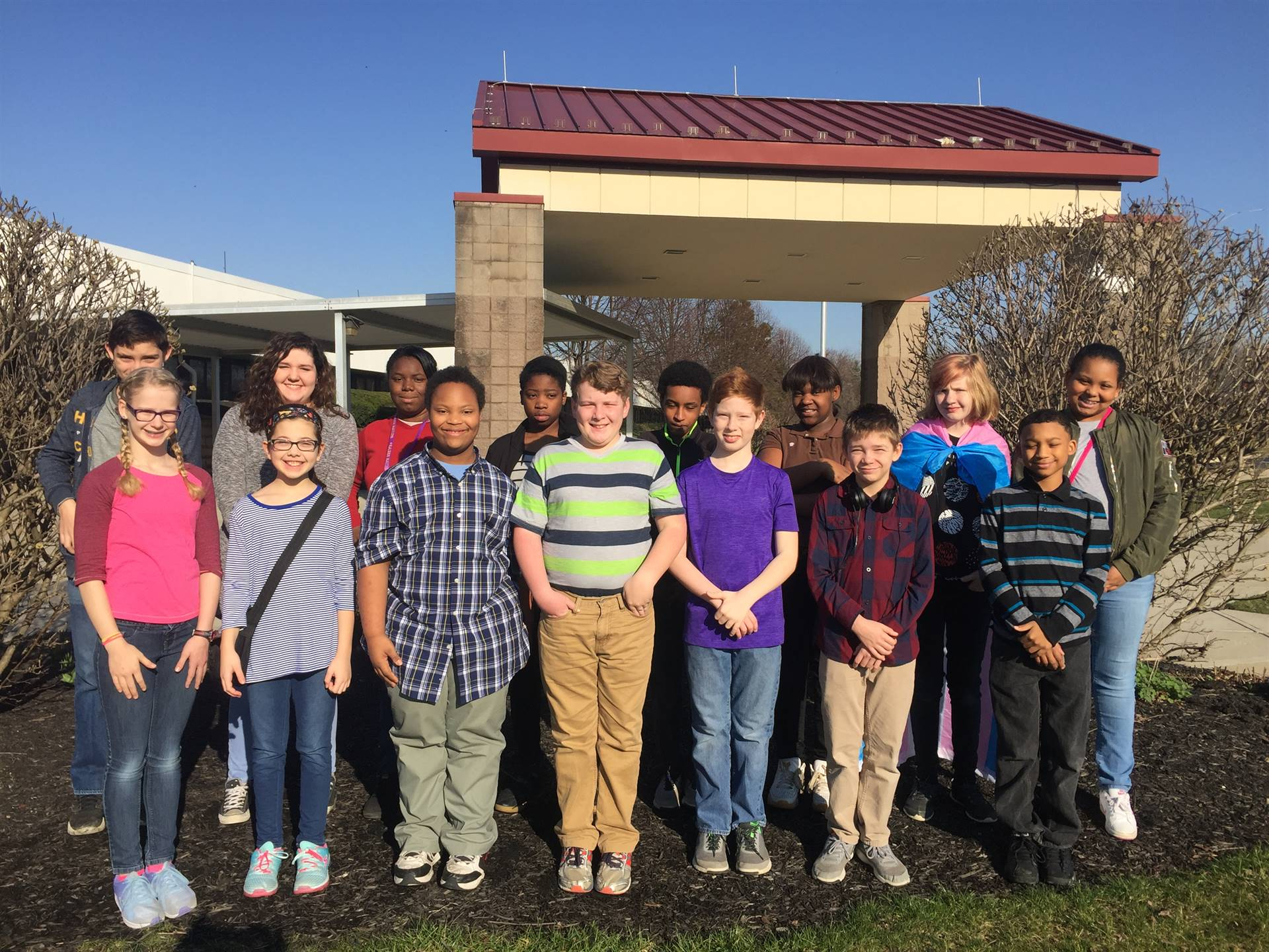 Students of the Month February 2017 - Act Respsonsibly