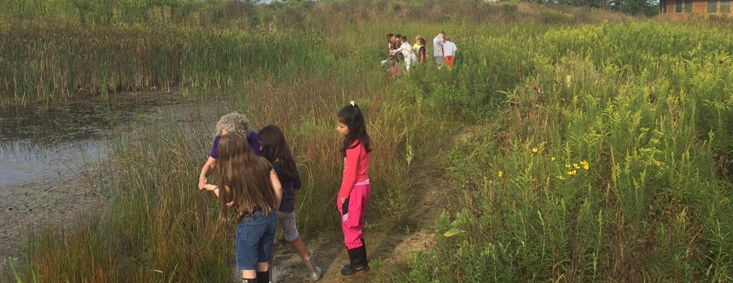 Third Graders at Wetlands