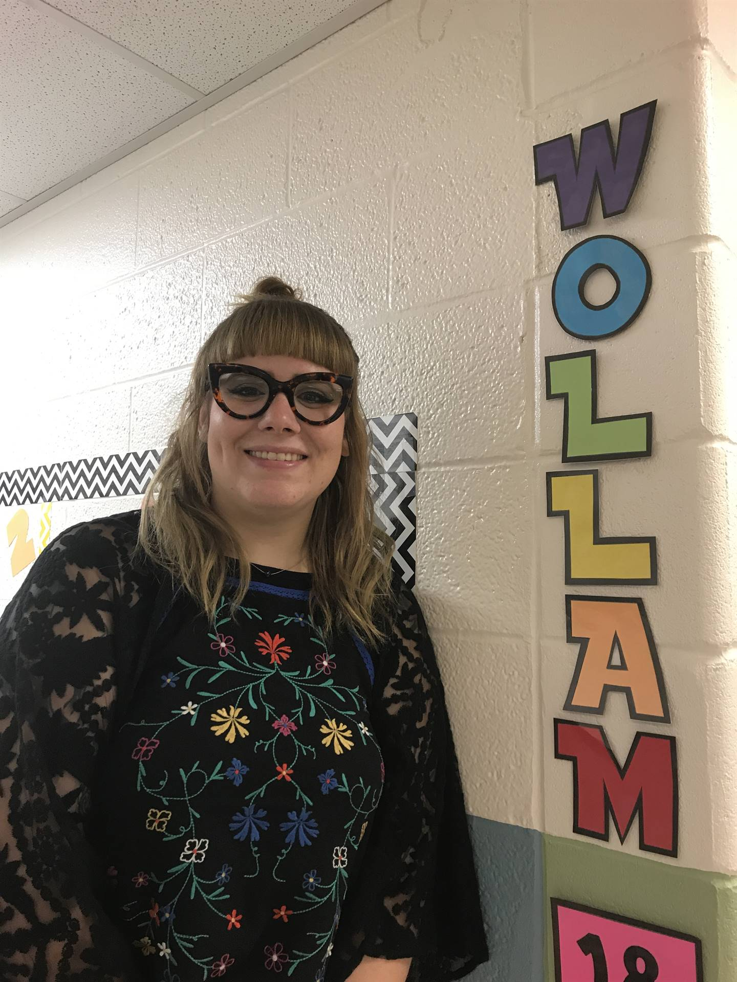 Ms. Wollam: Speech & Language Pathologist