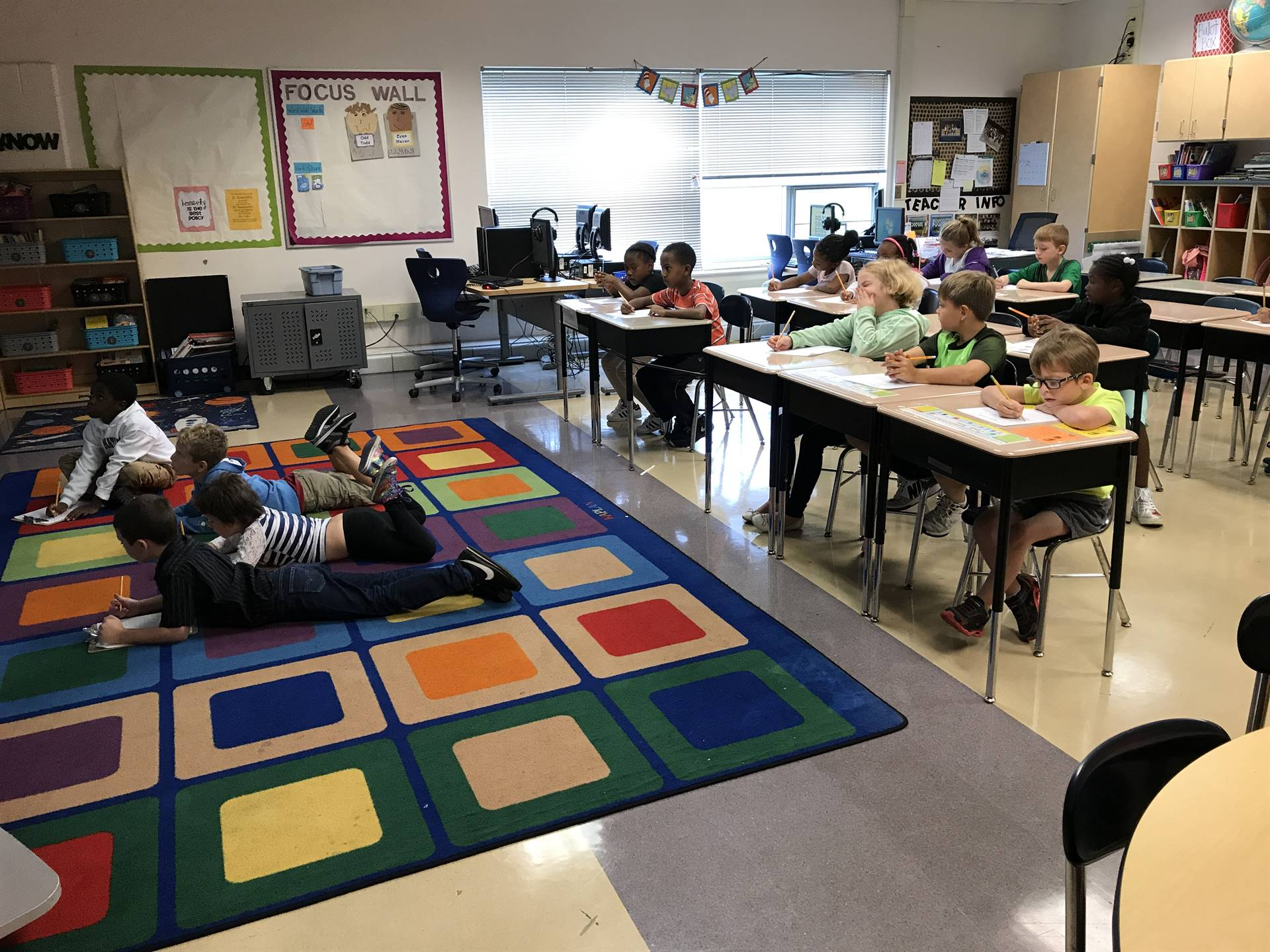 Second Grade Students SOAR!