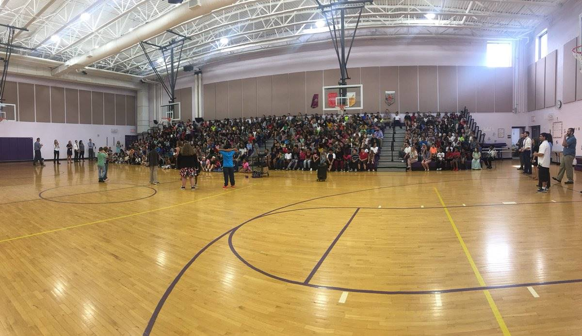 First Wolf schoolwide assembly!