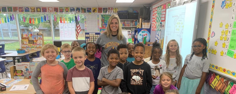 Mrs. Cripe's First Grade Class at HM STEAM ES