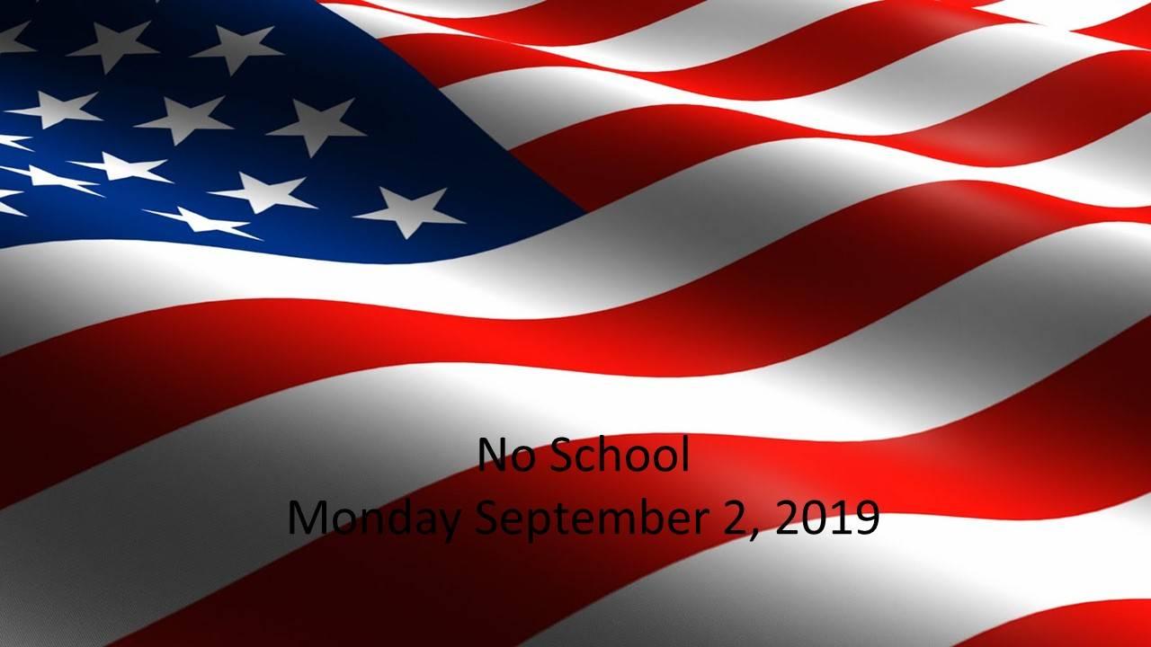 No School September 2