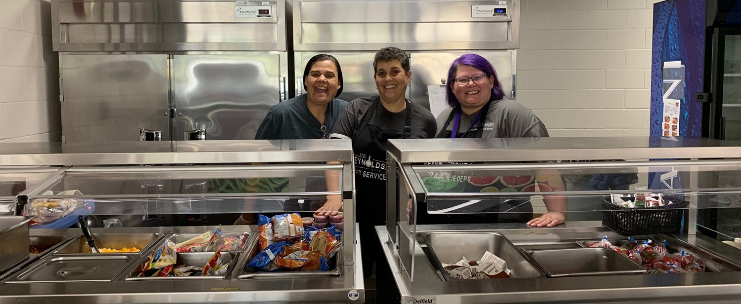 RHS Livingston Campus Food Service Team Members