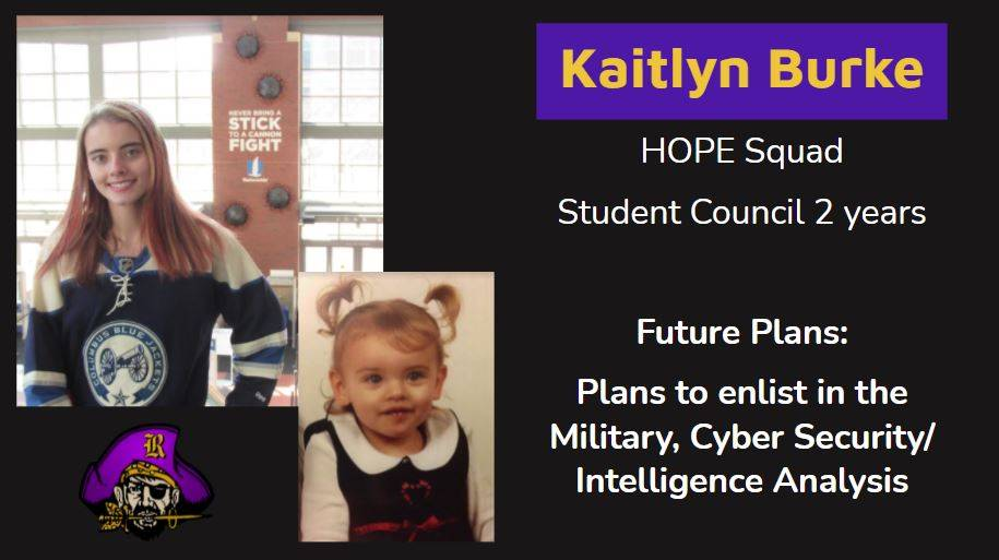 picture of student and future plan info