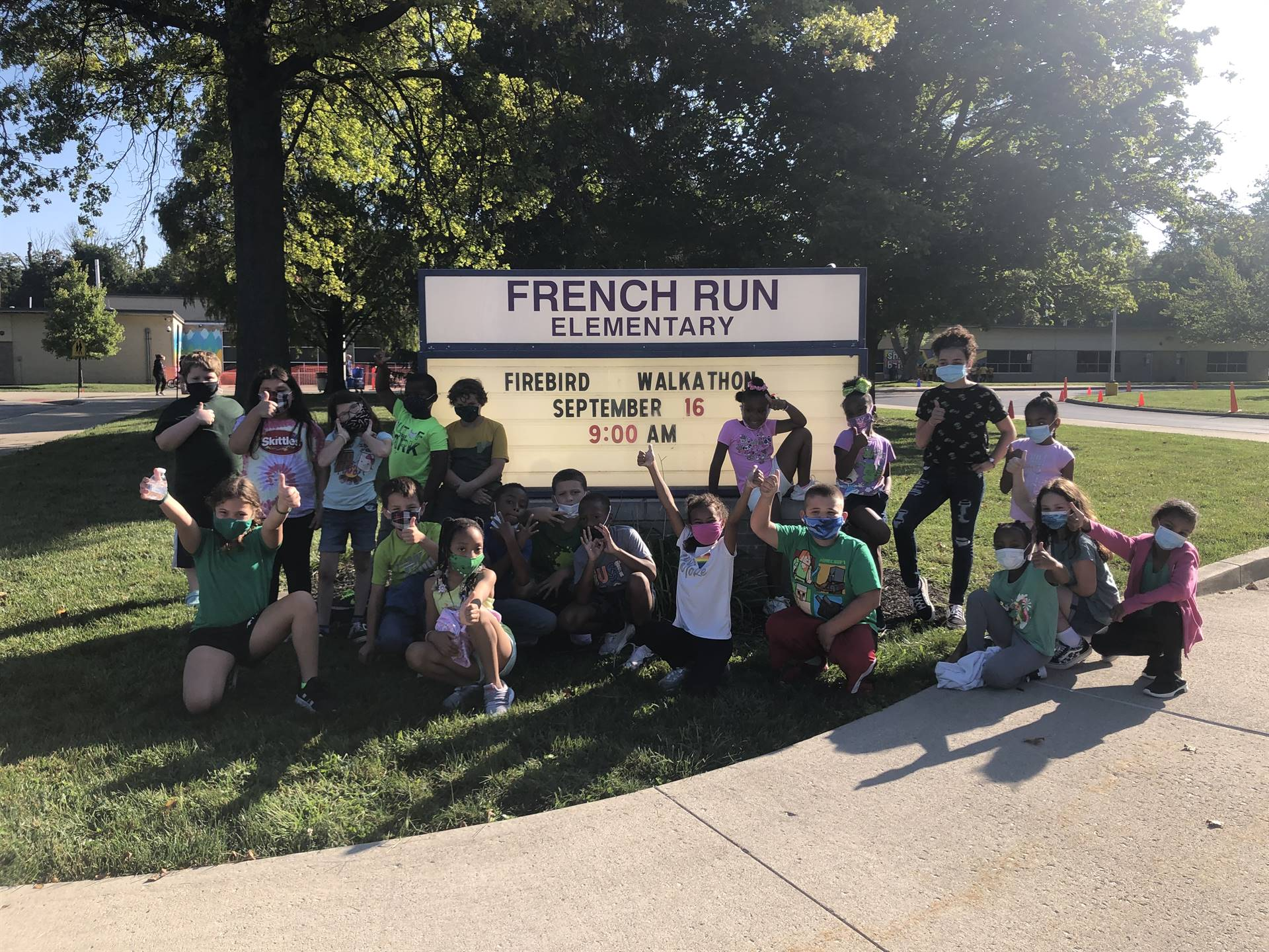 French Run Walk-a-Thon 2021