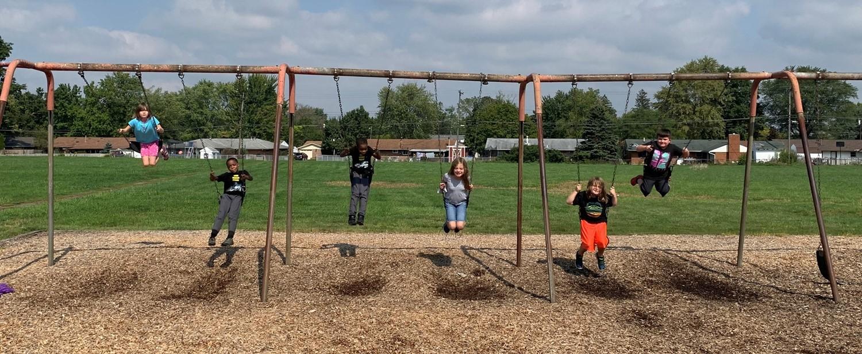 Swings at Recess