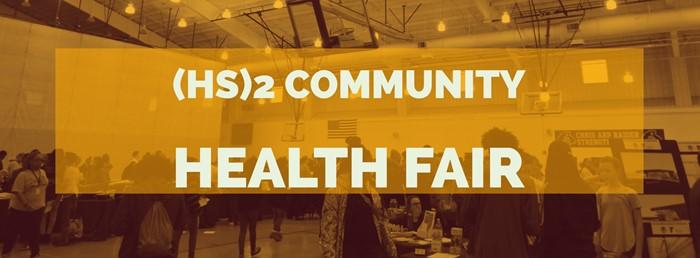 HS2 Health Fair Banner
