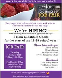 Job fair information