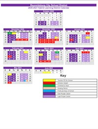 Cohort Calendar