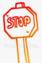 stop sign art