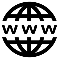 World Wide Web and Internet symbol