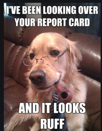 Report Cards posted March 26th